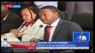 KTN Leo: Alfred Mutua amtaja Kalonzo Musyoka kwa tuhuma za unyakuzi wa ardhi eneo bunge la Mavoko