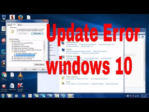 How to fix windows 10 upgrade Error 0x80070004- 0x3000D
