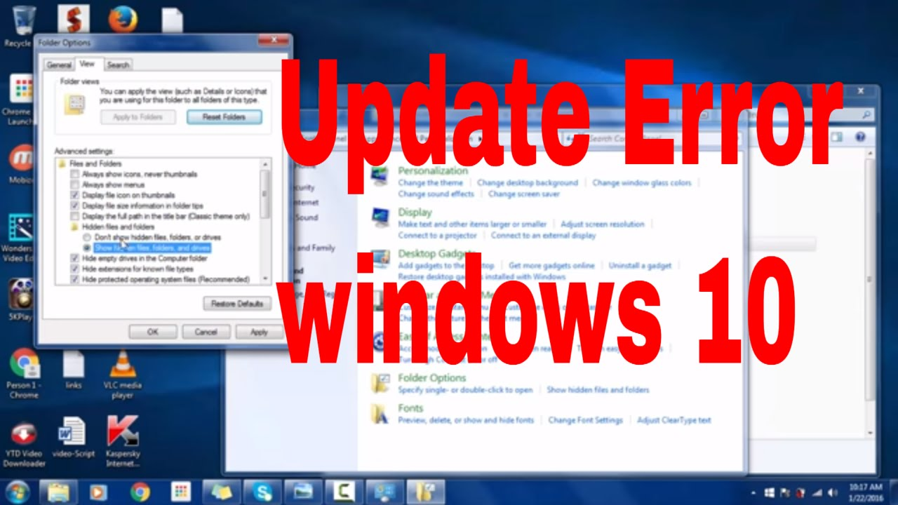 How to fix windows 10 upgrade Error 0x80070004- 0x3000D #upgradeerror  #computerrepair #techtip