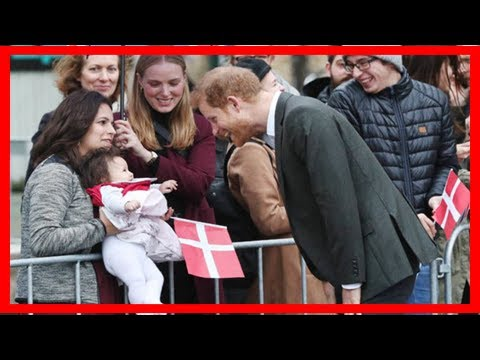 Breaking News | Feeling broody? prince harry plays with adorable toddler on copenhagen visit