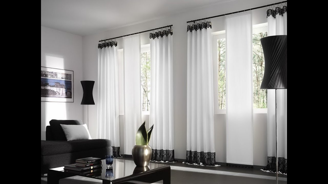 19 Awesome designs of curtains for living room