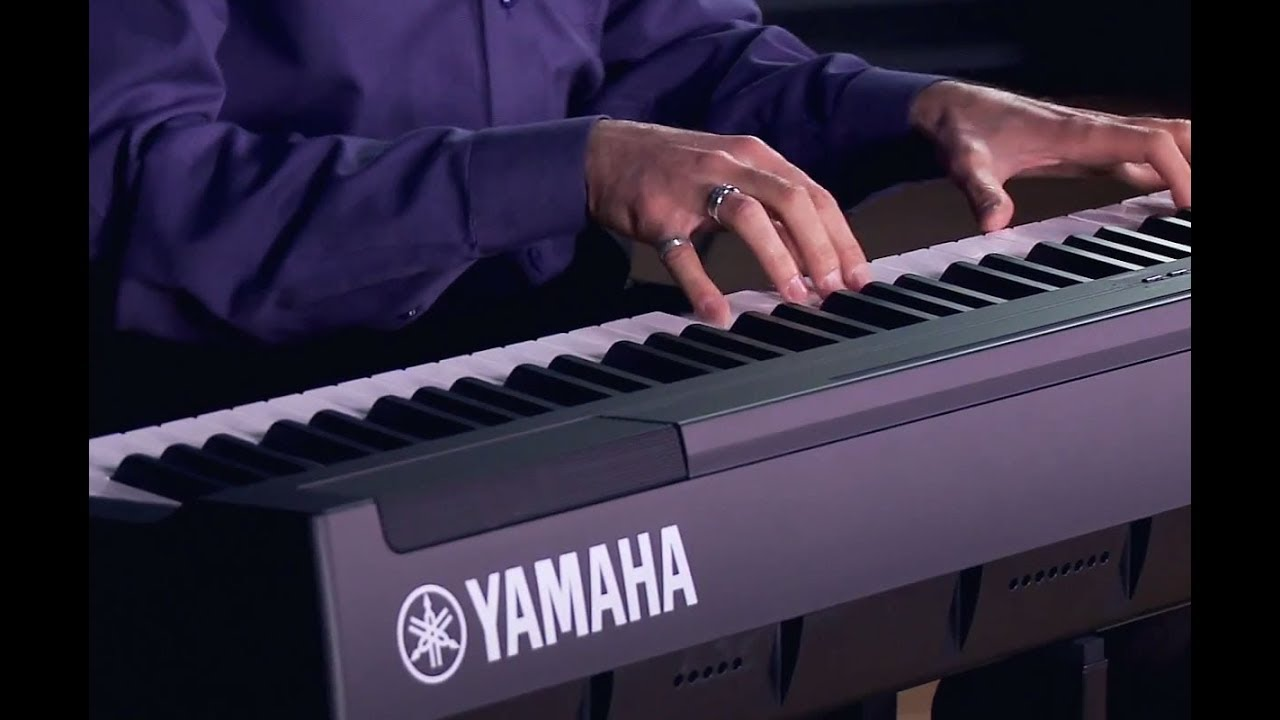 yamaha p 125 digital piano all playing no talking. Black Bedroom Furniture Sets. Home Design Ideas