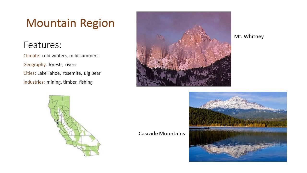 California's regions - YouTube