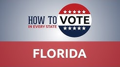 How to Vote in Florida in 2018