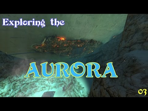 Exploring the Aurora: treasure awaits! ... Or not? - Subnautica - Episode 3