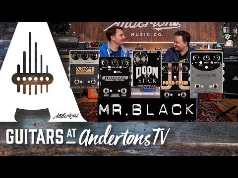Mr Black Delay, Chorus, Fuzz and so much more all in glorious stereo!