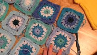 Crochet Footstool - Weekly Craft Update
