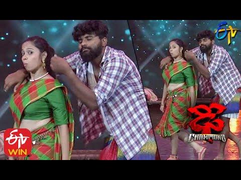 Tejashwini Performance | Dhee Champions |  2nd September 2020   | ETV Telugu