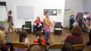 Мастер класс по художественной гимнастике в ТРЦ
