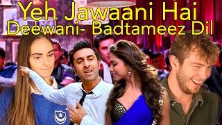 Badtameez Dil Reaction, Head Spread on Yeh Jawaani Hai Deewani