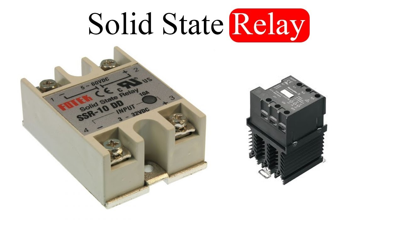 Solid State Relay Ssr What Is It And Applications Of Youtube For Dc