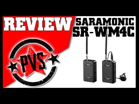 Saramonic Wireless Mic (SR-WM4C) -- Review & Range Test