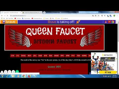 Free Bitcoin Faucet | Claim 12 Satoshis Every 3 Minutes