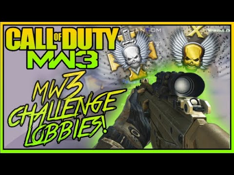 Modern Warfare 3 - FREE Challenge Lobbies! Patch 1.24! (MW3 Gameplay)