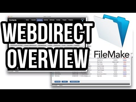 FileMaker 13 WebDirect Overview and Optimization Presentation Tutorial