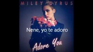 Miley cyrus - Adore you subtitulada en español