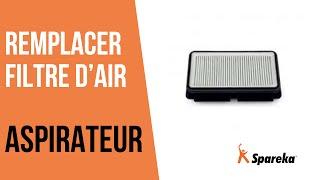 Comment remplacer le filtre à air de votre aspirateur ?