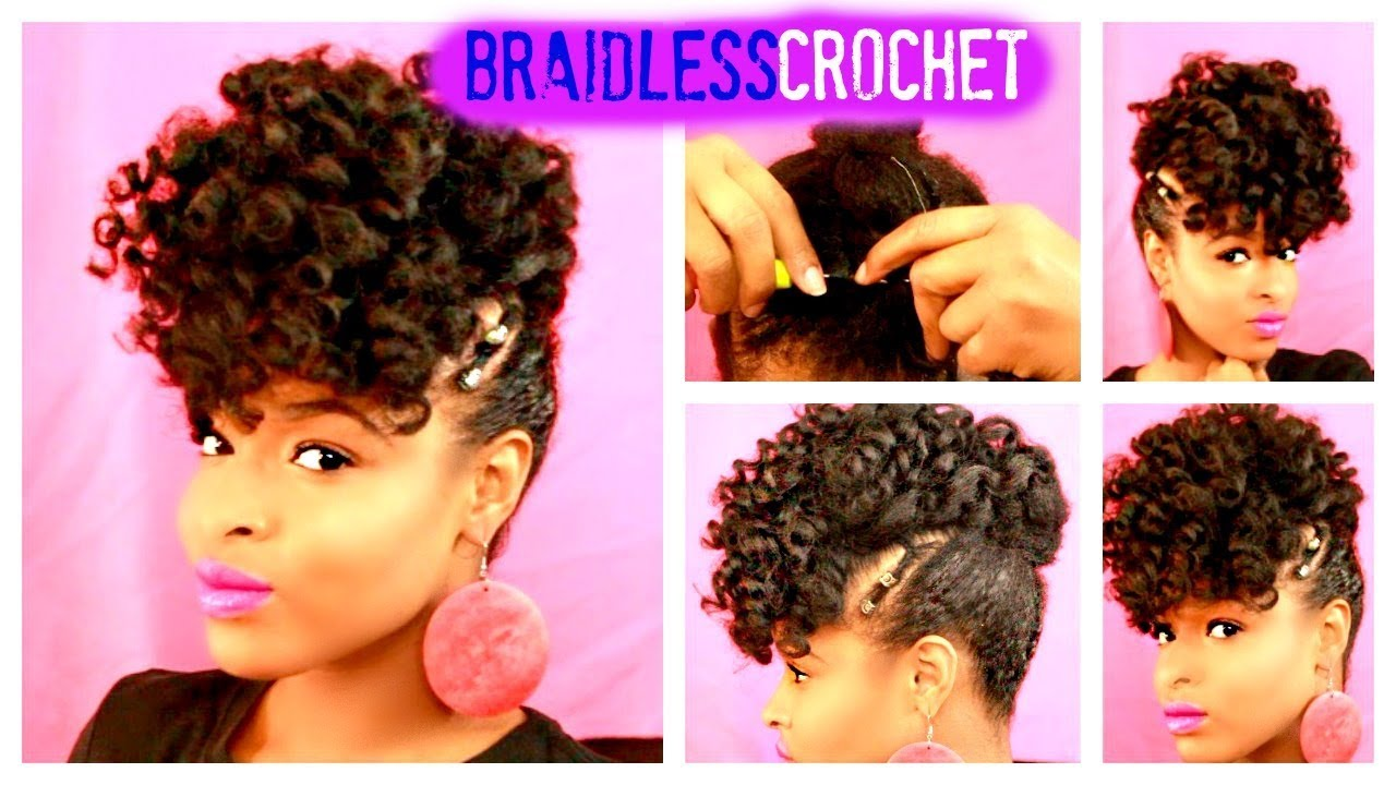 Braidless Crochet🔥using Jamaican Bounce Protective Style