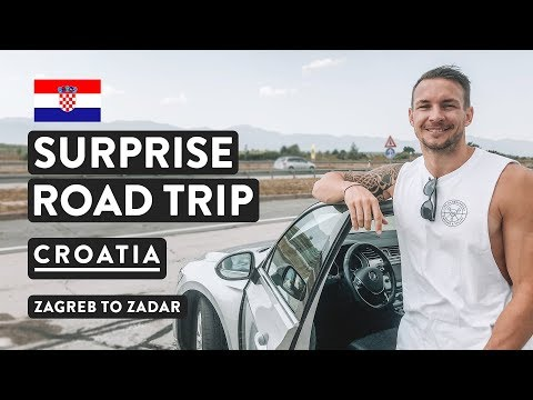 EPIC CROATIAN ROAD TRIP | Zagreb to Zadar w/ EasyRentCars Car Rental | Croatia Travel Vlog