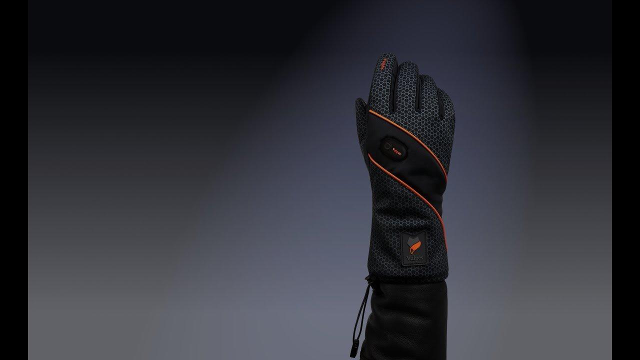 Vulpés MOONTOUCH - Smart Heated Gloves (Water Resistance Test)