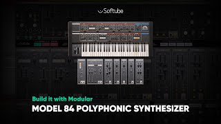 Model 84 Polyphonic Synthesizer – Build It With Modular