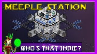 MEEPLE STATION Gameplay Impression  | Space Station Simulation Management Game |