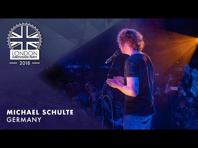 Michael Schulte - You Let Me Walk Alone  | LIVE | Germany | OFFICIAL | 2018 London Eurovision Party