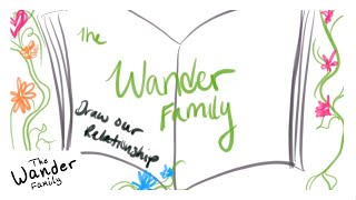 DRAW OUR RELATIONSHIP!! AMAZING Wander Family Draw My Life! | The Wander Family