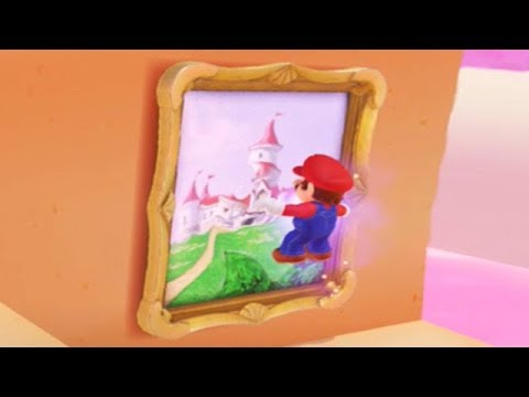 Super mario odyssey all secret path locations hidden for Super mario odyssey paintings