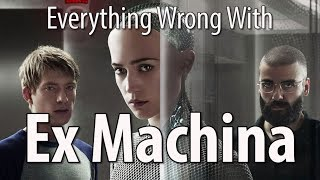 Ex Machina is not only excellent science fiction, it's just plain one of the best movies of the decade. We love it. Still found some sins... you know how we do.