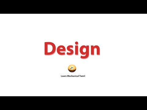 Design Series Introduction In Tamil Become The Design Engineer In Tamil Youtube