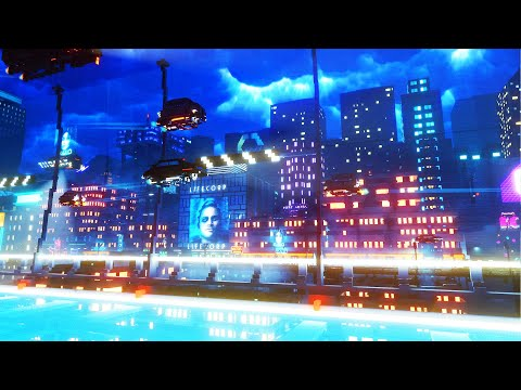 NEW Shipping Company in MASSIVE Cyberpunk Metropolis | Cloudpunk Transport Tycoon Gameplay