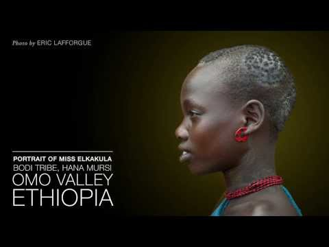 Black Beauty. Morphing of African Ethnic Groups.