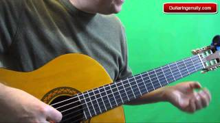How to play a pull off on guitar