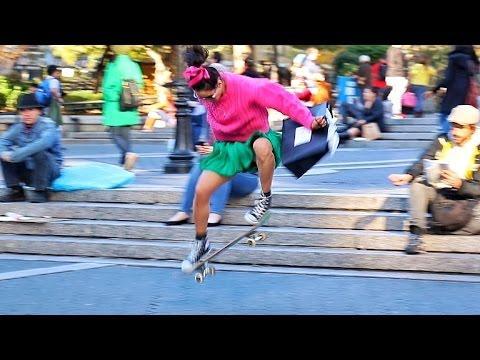 She Can Skate!!!