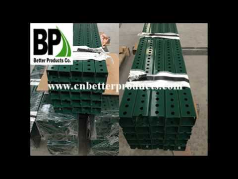 Perforated Steel Square Sign Posts & U Channel Posts