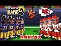 Roblox NFL Football - Chiefs vs Rams! (Roblox NFL 2)