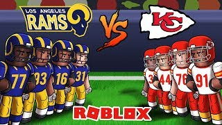 Roblox NFL Football - Chiefs vs Rams! (Roblox NFL 2)