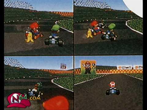 Mario Kart 64 Beta Compilation YouTube