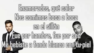 Vente pa' ca LETRA - Ricky Martin Ft  Maluma thumbnail