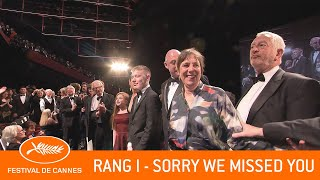 SORRY WE MISSED YOU - Rang I - Cannes 2019 - VO