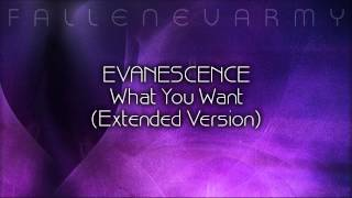 Evanescence - What You Want (Extended Version) by FallenEvArmy