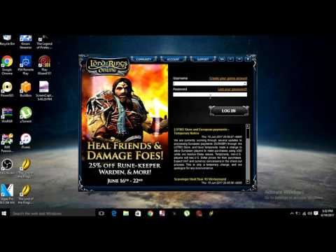 LOTRO Launcher Error Fix