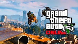 GTA 5 Crazy Bike Riding & Stunts & Customization & funny Accidents