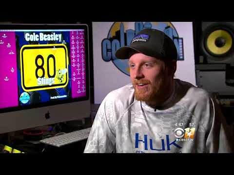 80 Stings CBS Interview with Cole Beasley (How he got started)