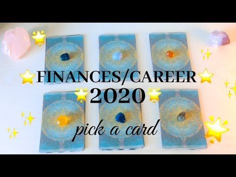 💚💰FINANCES/CAREER IN 2020💰💚 Pick a Card 💫