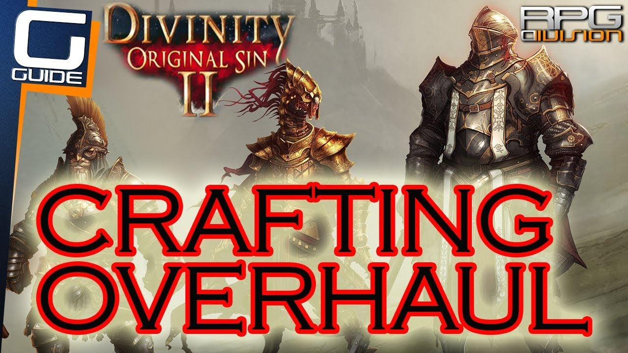 Divinity Original Sin  Crafting Overhaul Mod Recipes