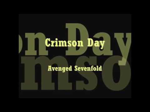 Crimson day - Avenged Sevenfold [Karaoke]