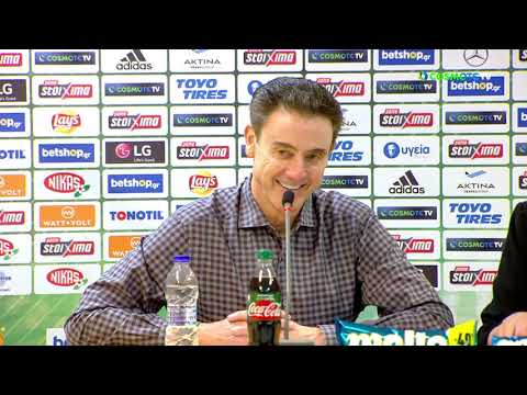 Basket League Post - Game Press Conference | Panathinaikos BC OPAP Athens vs PAOK BC