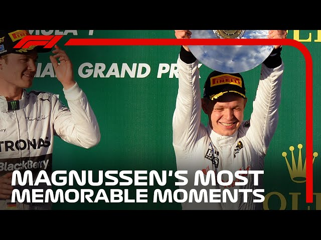 Kevin Magnussen's Most Memorable Moments In F1